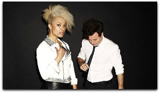 "Natural Beauty Connie Mitchell of Sneaky Sound System ""Big"" Video"