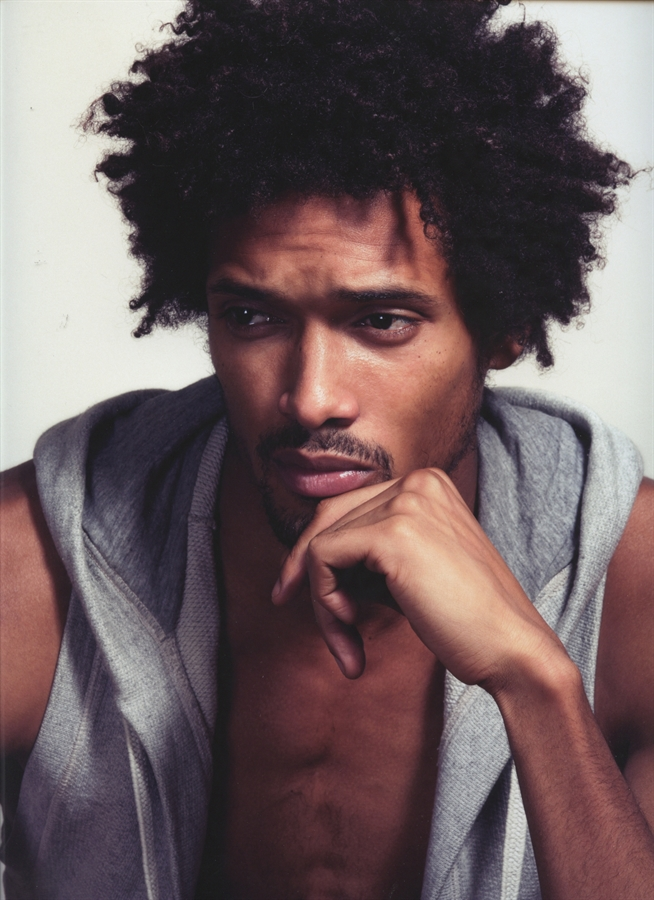 Men with Natural Hair - Sporty Afros