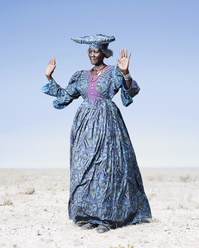 Jim Naughten S Conflict And Costume The Herero Tribe Of
