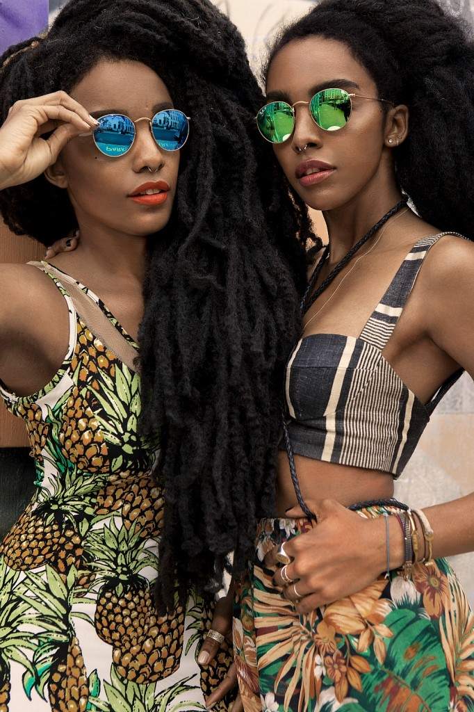sunglass hut x quann sisters �it started with mom�