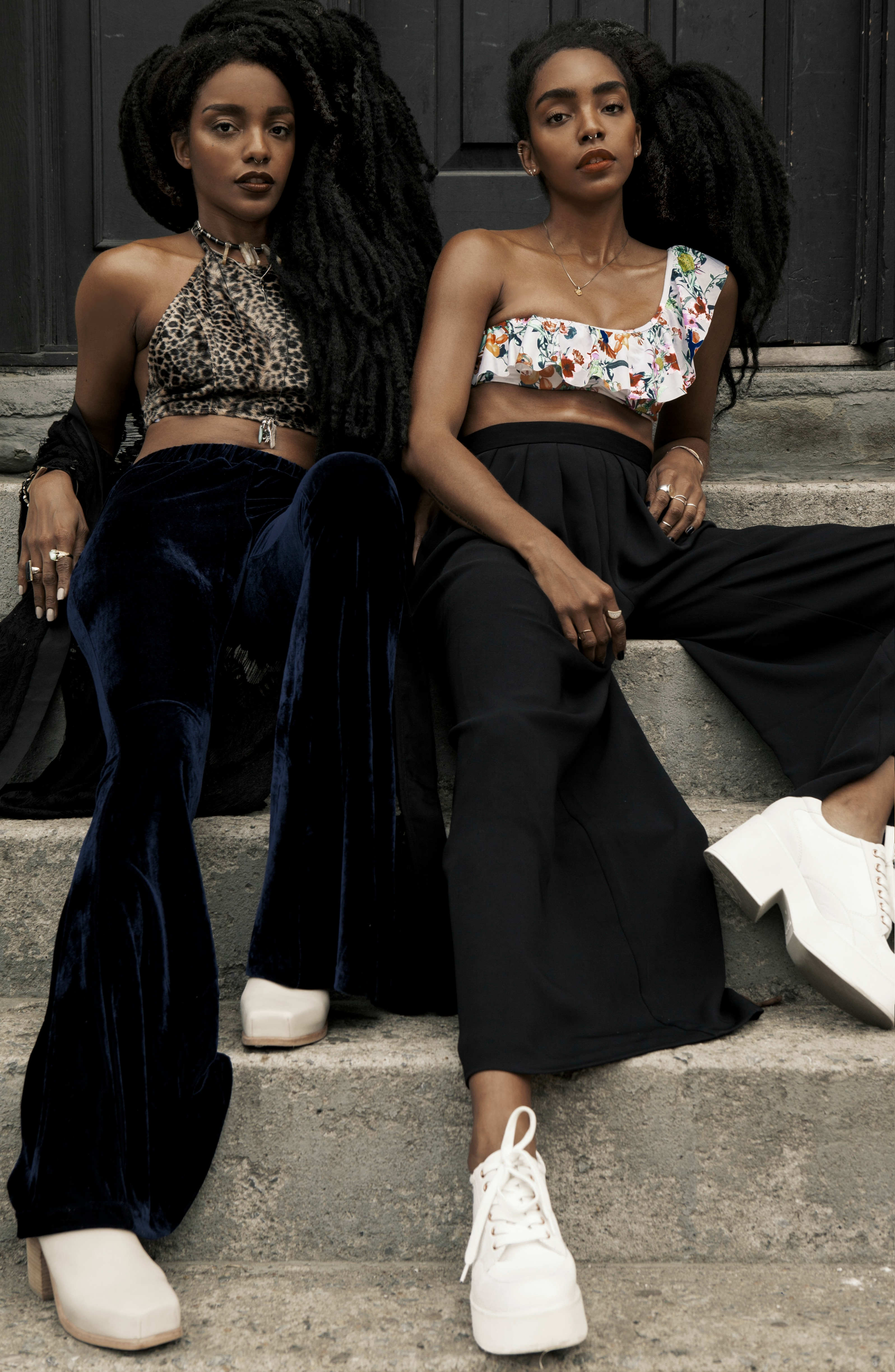 6 Sets of Natural Twins Slaying the Style Game | Black